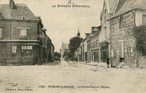La Grand'Rue et l'Eglise |
