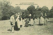 La Ridée, danse bretonne du Morbihan |