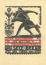 Carte de voeux des Seiz Breur | Calligraphy PRINT