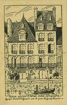 Redon ancien : l'hôtel Abel-Compadre (époque Louis XIV). Façade sur le quai Duguay-Trouin |