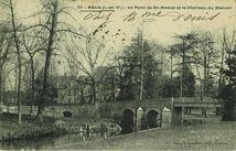 Le pont Saint-Armel et le château du Manoir  