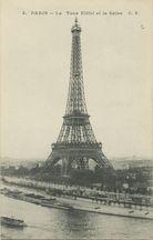 La Tour Eiffel et la Seine |