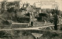 Vue prise de la nouvelle Route de Saint-Brieuc |