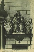 Intérieur de l'Eglise - Statue de Notre-Dame de Cavan |