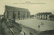 Vue sur la Caserne (Ancienne Eglise St-Esprit) |