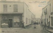 Place du marché et rue de l'Eglise | Le DELEY