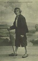 Un pagane, pêcheur de Kerlouan, environs de Brignogan |