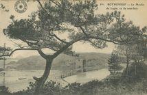 ROTHENEUF - Le Moulin du Lupin, vu du sous-bois |
