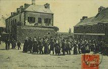 Noce dansant la Gavotte bretonne |