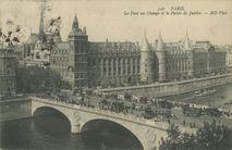 Le Pont au Change et le Palais de Justice | Neurdein