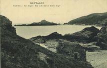 Port Noger - Baie et Rocher de Gouin Seigal |