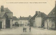 Place de l'Eglise, route de Varades | Chapeau F.