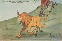 L'ANE VETU DE LA PEAU DU LION (EDITION 1940-1944) | Vilaseca O.