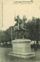 Statue de Du Guesclin | Fougere