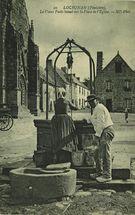 Le Vieux Puits banal sur la Place de l'Eglise |