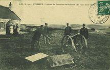 Le poste des douaniers des Rochettes - Le canon lance-amarre |