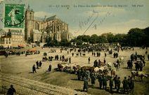 La Place des Jacobins un Jour de Marché |