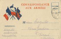 CORRESPONDANCE AUX ARMEES |