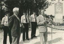 Commémoration à la mémoire des résistants de Kerycunff (1984) | Kervinio Yvon