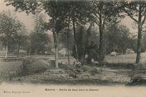 Route de Jouy vers le Chanoir | Breger Frères A.