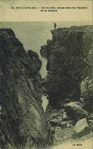 Sur la Côte, Gorge deans les Rochers de la Dilianne |
