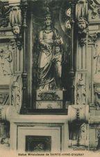 Statue Miraculeuse de SAINTE-ANNE-D'AURAY |