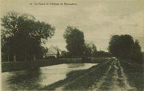 Le Canal et l'Ecluse de Thymadeuc  
