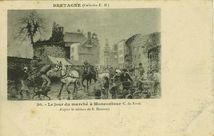 Le jour de marché à Moncontour | Hamonic E.
