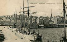 Le Port et le Quai Morand. |