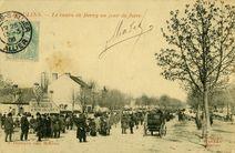 Le cours de Bercy un jour de foire |