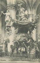La Chaire de Vérité à l'Eglise Sainte-Gudule |