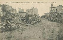 Les Ruines de CLERMONT en Argonne |
