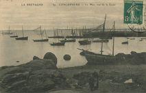 La Mer, vue de la Croix |