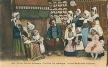 Anciens Costumes de Bretagne |