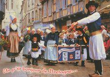 Un p'tit bonjour de Bretagne... | D. SAINTHORANT