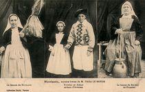 La femme de NICOLAZIC YVONNIC et ANNAIC enfants d'Ardeven La bonne du Recteur de Pluneret |