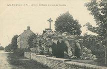La Grotte de l'Eglise et la route de Dourdain  