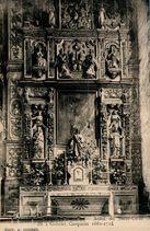 SAINT-THEGONNEC (Finistère) - Autel du Sacré-Coeur dû à Gabriel Carquain 1662-1724 |