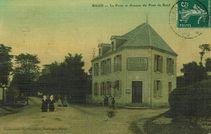 La Poste et Avenue du Pont de Baud |