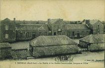 La Mairie et les Ecoles Communales, Garçons et Filles |