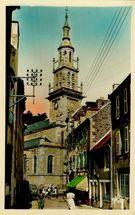 Rue des Falaises et l'Eglise  