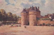 PORTE SAINT-MICHEL | Bourgeois Eugène