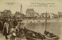 L'Hôtel de l'Océan, en face le débarcadère de Belle-Ile-en-Mer |
