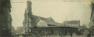 L'Eglise Saint-Louis - Les Halles - La rue de la mairie |