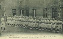 La société de gymnastique &quot | E. R.