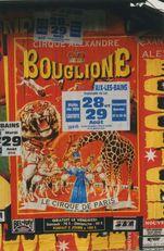 Affiche Alexandre Bouglione du cirque Krone ! | Kervinio Yvon