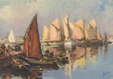 Thoniers au port | Yvon