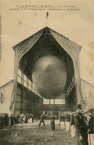 Le Dirigeable Ville deNancy, dans son hangar |