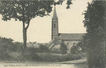 Vue du Bourg prise du Chemin de la Chapelle  