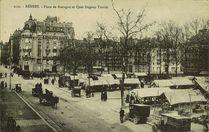 Place de Bretagne et quay Duguay-Trouin |